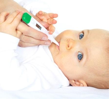 Простудные заболевания у младенцев